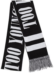 Neighborhood Too Young Scarf Black