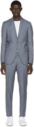 Tiger Of Sweden Blue Nedvin Suit