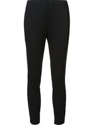 Issey Miyake 'Cosmic Ripple' Slim Fit Trousers Black