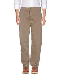 Camouflage Ar And J. Casual Pants Khaki