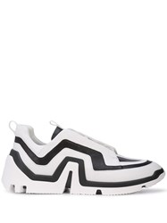 Pierre Hardy Vibe Lo Top Sneakers White
