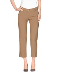 Denny Rose Trousers Casual Trousers Women Sand