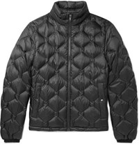 Hugo Boss Quilted Shell Down Jacket Navy