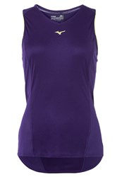 Mizuno Phenix Sports Shirt Parachute Purple