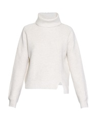 Proenza Schouler Roll Neck Wool And Cashmere Blend Sweater