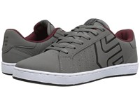 Etnies Fader Ls Grey Black Red Men's Skate Shoes Multi