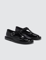 Burberry Patent Leather T Bar Shoes