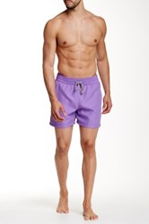 Le Club Granada Wet Print Board Short Purple