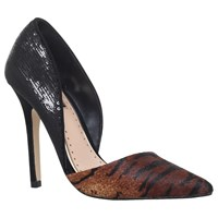 Miss Kg Andi 2 Stiletto Heeled Court Shoes Tan Comb