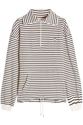 See By Chloe Striped Cotton Top Stripes