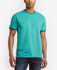 Kenneth Cole New York Tipped T Shirt Tidepool