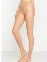 Wolford Individual 10 Back Seam Tights Nude Black