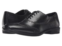 Bed Stu George Black Garment Dye Leather Men's Lace Up Wing Tip Shoes