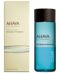 Ahava Time To Clear Eye Make Up Remover 4.2 Oz