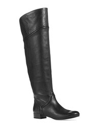 Enzo Angiolini Malaci Over The Knee Riding Boots Black
