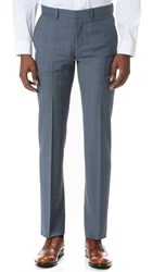 Theory Marlo Camley Suiting Trousers Washed Blue
