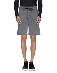 Drykorn Trousers Bermuda Shorts Men Grey
