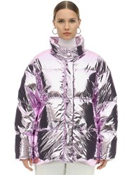 Ienki Ienki Cloud Foiled Down Jacket Pink