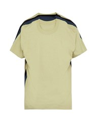 Y Project Four Layer Cotton T Shirt Light Green