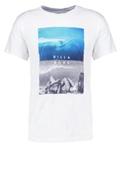 Billabong Memories Tailored Fit Print Tshirt White