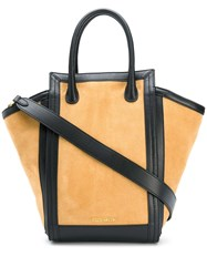 Coccinelle Madelaine Suede Tote Brown