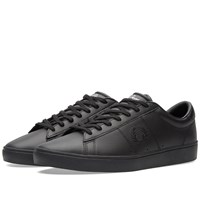 Fred Perry Spencer Leather Sneaker Black