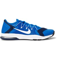 Nike Training Zoom Train Complete Mesh And Rubber Sneakers Cobalt Blue