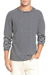Vince Men's Long Sleeve Stripe T Shirt