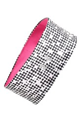 Under Armour 'Layered Up' Reversible Headband Pink Rebel Pink Black Silver