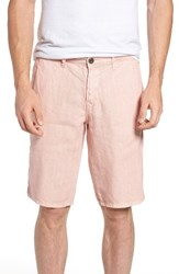 Original Paperbacks Men's 'Havana' Linen Shorts Petal