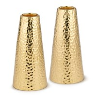 Aerin Tulln Candlesticks Gold Set Of 2