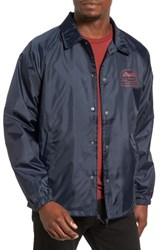 Brixton Men's Dale Coach Jacket Light Navy