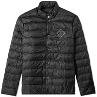 Barbour Sergeant Quilted Jacket Black