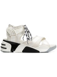 Marc Jacobs Somewhere Sport Sandal Sneakers White