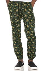 Billionaire Boys Club Camo Knit Pant Green
