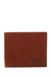 Rawlings Sports Accessories Triple Play Leather Bi Fold Wallet Brown