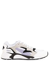 Puma Select Prevail Classic Leather And Mesh Sneakers Sweet Lavender