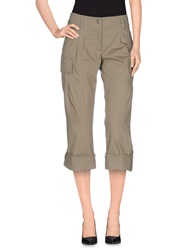 Philosophy Di Alberta Ferretti 3 4 Length Shorts Grey