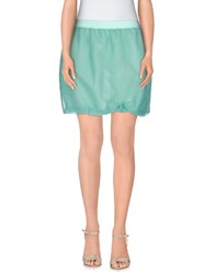 Jijil Skirts Mini Skirts Women Light Green