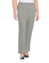 Nipon Boutique Plus Classic Fit Pants Grey Black