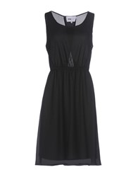 Pop Cph Dresses Knee Length Dresses Black