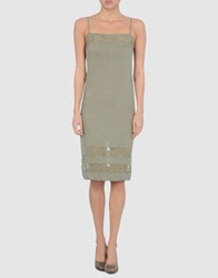 Soho De Luxe Short Dresses Light Brown
