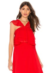 The Jetset Diaries Sintra Top Red