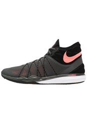 Nike Performance Dual Fusion Tr Hit Sports Shoes Midnight Fog Lava Glow Black Dark Grey