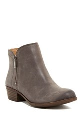 Lucky Brand Breah Bootie Wide Width Available Gray