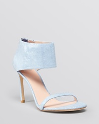 Stuart Weitzman Open Toe Evening Sandals Showgirl High Heel