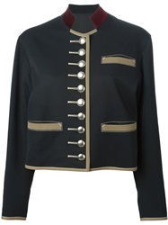 Jean Paul Gaultier Vintage Military Jacket Black