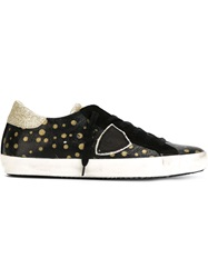 Philippe Model Polka Dot Sneakers Black