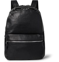 Shinola Runwell Full Grain Leather Backpack Black