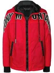 Philipp Plein Scarface Jacket Red